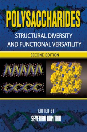 Polysaccharides: Structural Diversity and Functional Versatility, Second Edition book cover