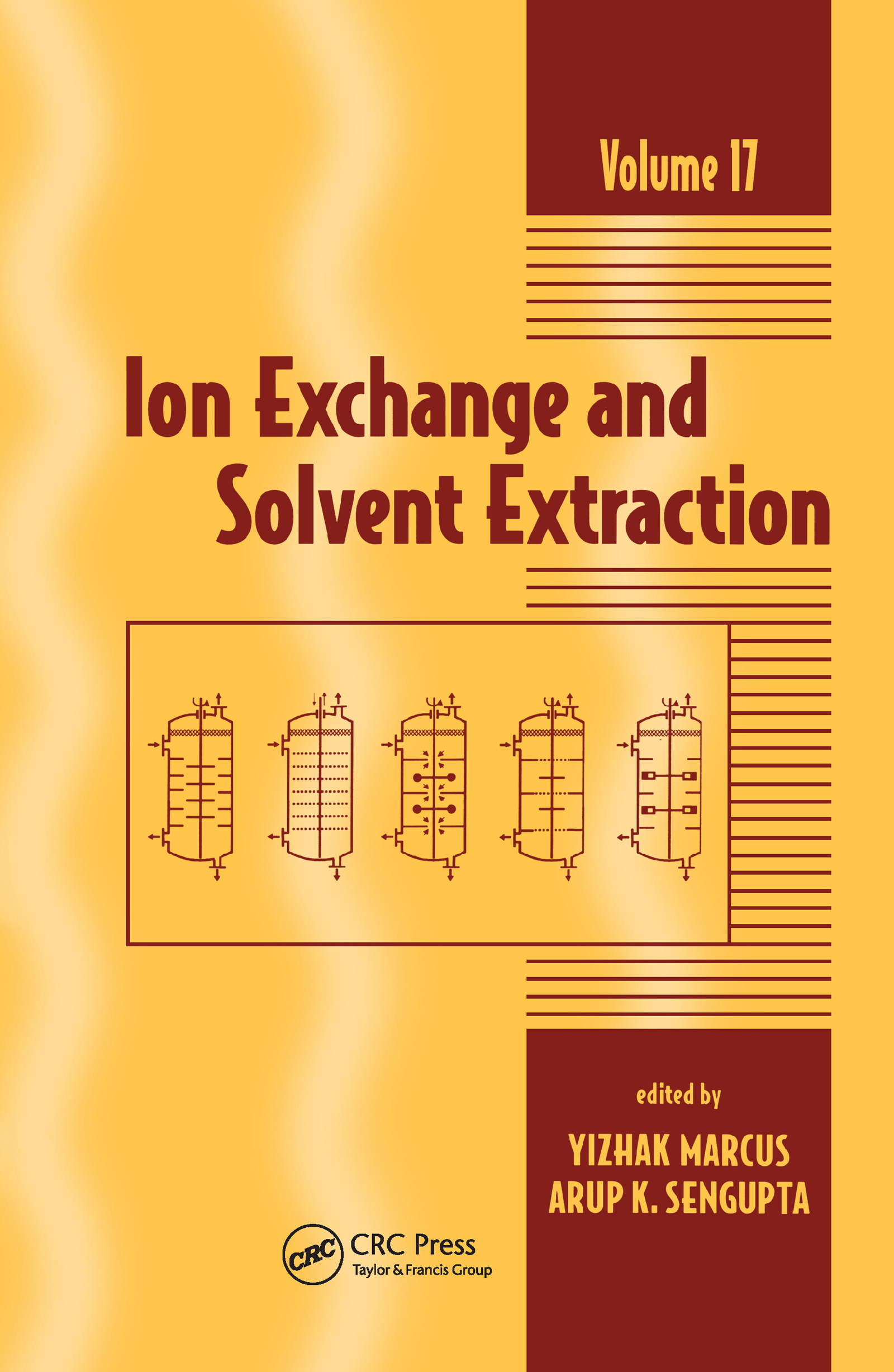 Ion Exchange and Solvent Extraction: A Series of Advances, Volume 17, 1st Edition (Hardback) book cover