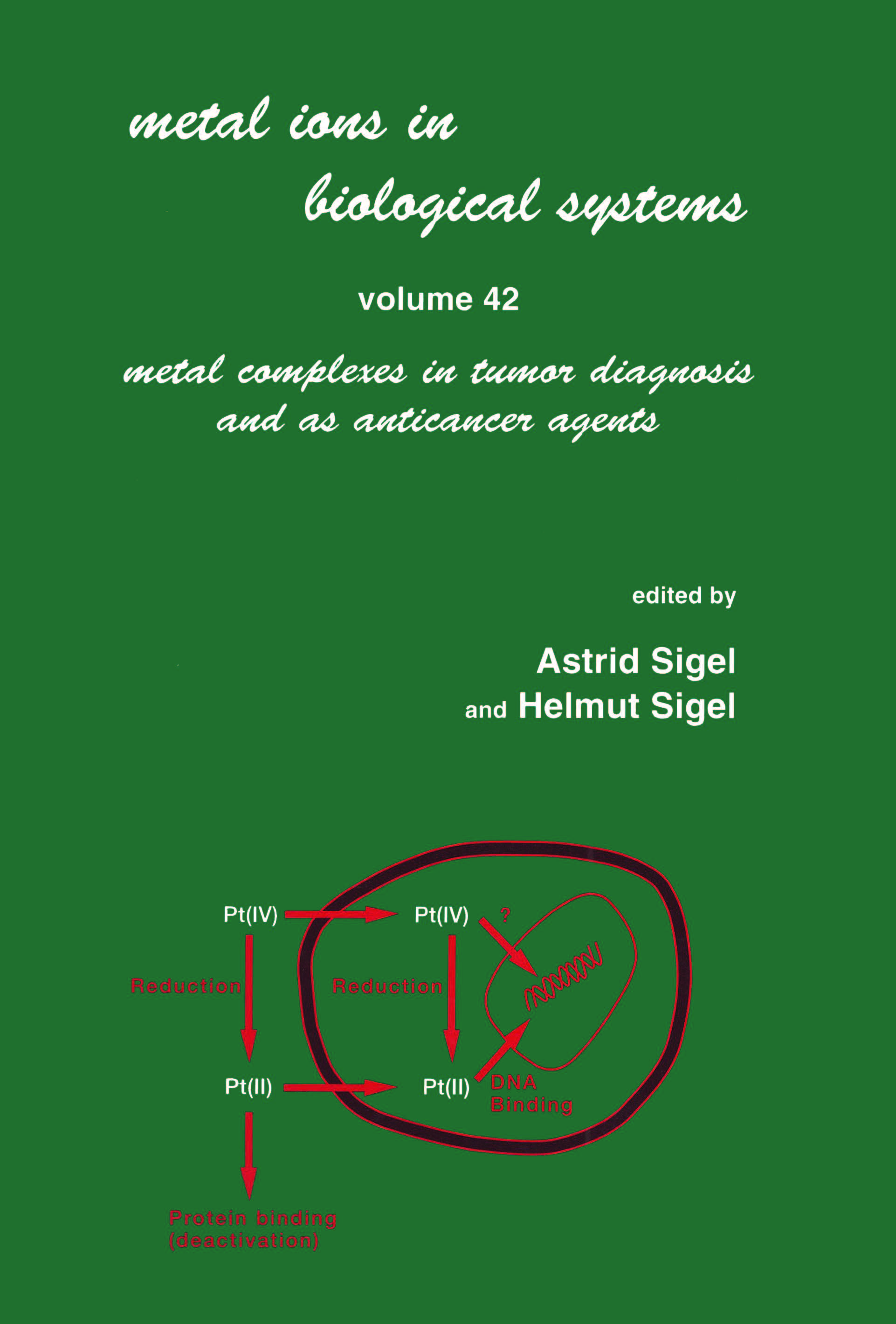 Metal Ions in Biological Systems: Volume 42: Metal Complexes in Tumor Diagnosis and as Anticancer Agents book cover