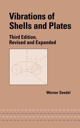 Vibrations of Shells and Plates, Third Edition book cover