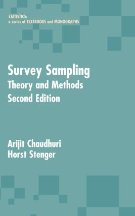 Survey Sampling: Theory and Methods, Second Edition, 2nd Edition (Hardback) book cover