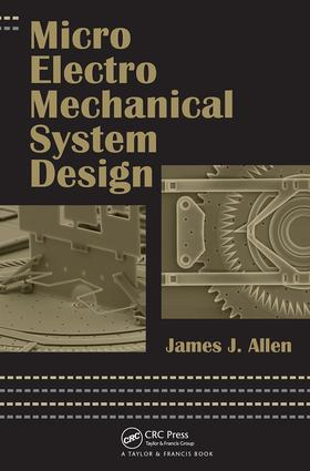 Micro Electro Mechanical System Design book cover