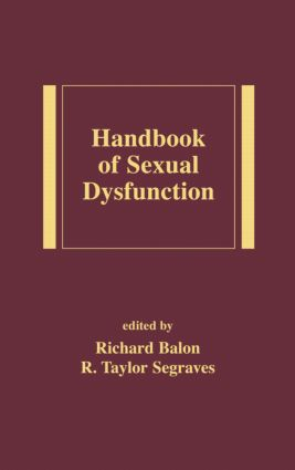 Handbook of Sexual Dysfunction: 1st Edition (Hardback) book cover
