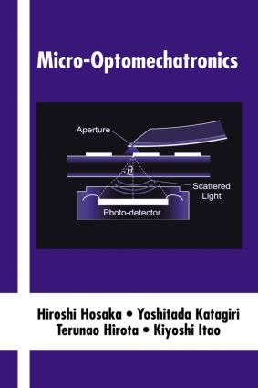 Micro-Optomechatronics: 1st Edition (Hardback) book cover