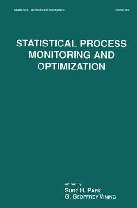 Statistical Process Monitoring and Optimization: 1st Edition (Hardback) book cover