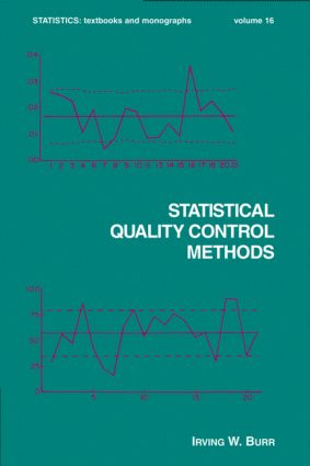 Statistical Quality Control Methods (Hardback) book cover