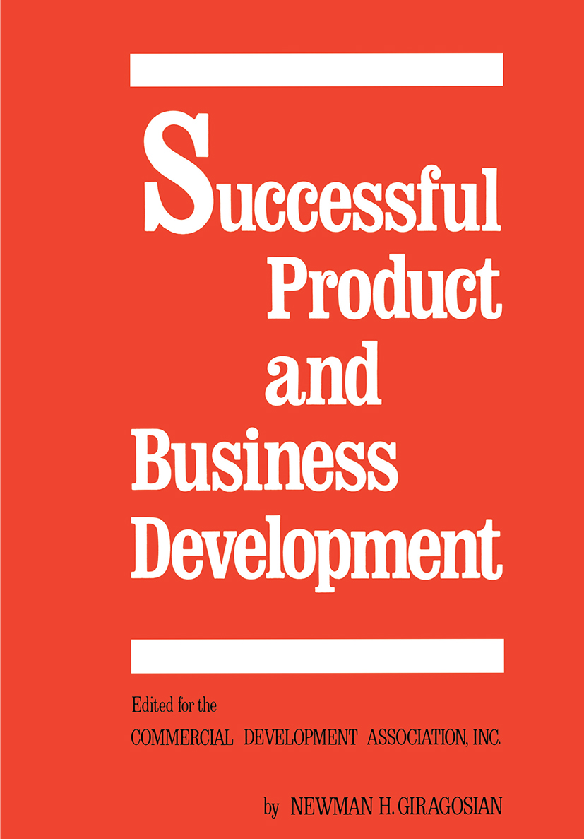 Successful Product and Business Development, First Edition: 1st Edition (Hardback) book cover