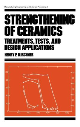 Strengthening of Ceramics: Treatments: Tests, and Design Applications book cover