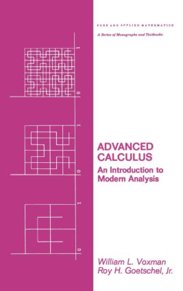 Advanced Calculus: An Introduction to Modern Analysis, 1st Edition (Hardback) book cover