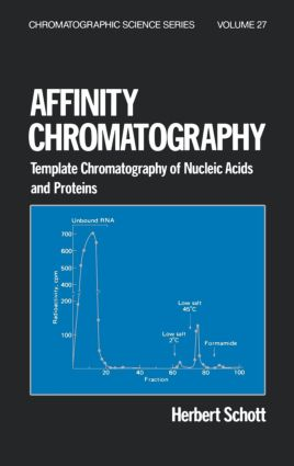 Affinity Chromatography: Template Chromatography of Nucleic Acids and Proteins, 1st Edition (Hardback) book cover