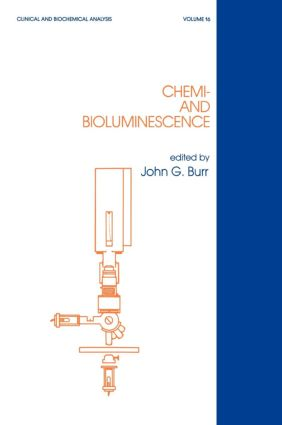 Chemi- and Bioluminescence book cover