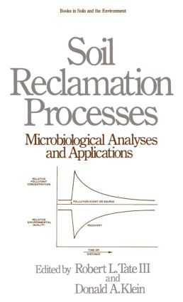 Soil Reclamation Processes Microbiological Analyses and Applications: 1st Edition (Hardback) book cover