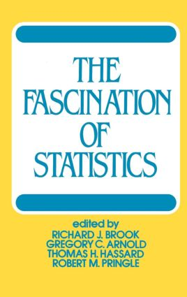 The Fascination of Statistics: 1st Edition (Hardback) book cover