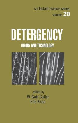 Detergency: Theory and Technology, 1st Edition (Hardback) book cover