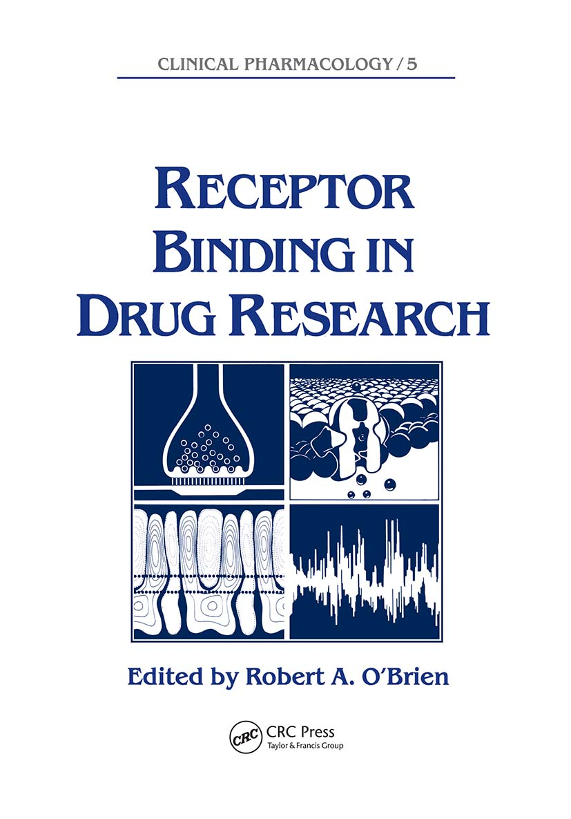 Receptor Binding in Drug Research: 1st Edition (Hardback) book cover
