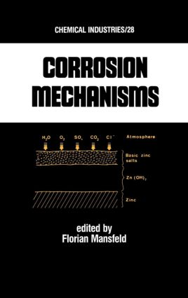 Corrosion Mechanisms: 1st Edition (Hardback) book cover