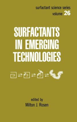 Surfactants in Emerging Technology: 1st Edition (Hardback) book cover