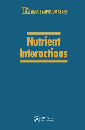 Nutrient Interactions: 1st Edition (Hardback) book cover