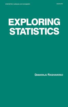 Exploring Statistics: 1st Edition (Hardback) book cover