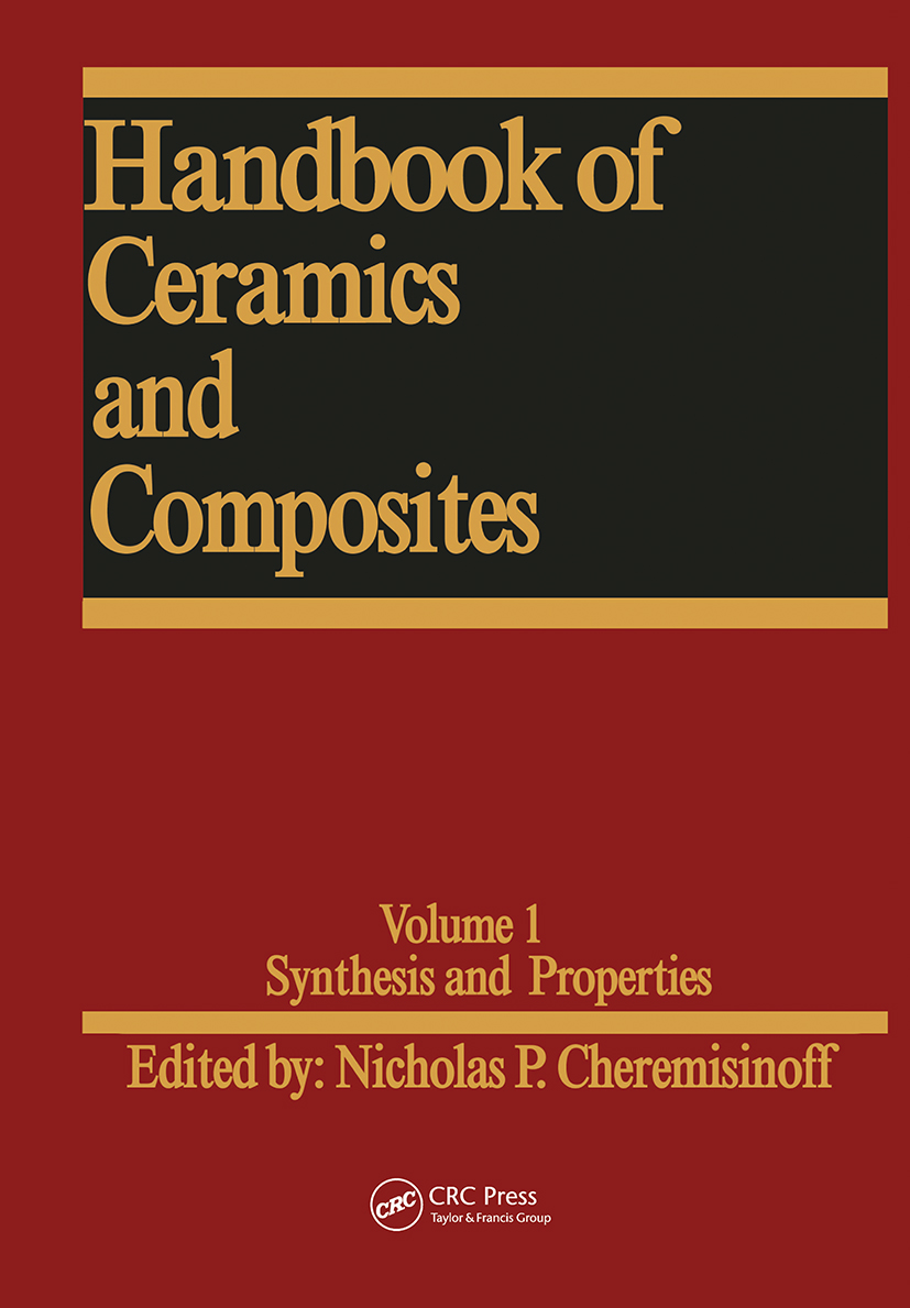 Handbook of Ceramics and Composites: Synthesis and Properties, 1st Edition (Hardback) book cover