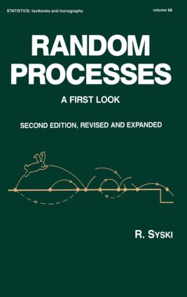 Random Processes: A First Look, Second Edition,, 2nd Edition (Hardback) book cover