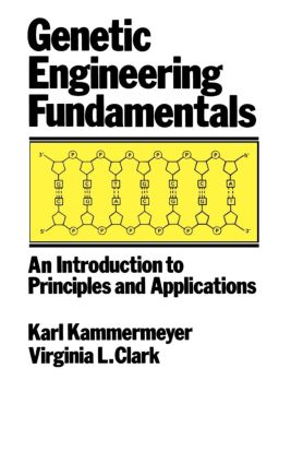 Genetic Engineering Fundamentals: An Introduction to Principles and Applications, 1st Edition (Hardback) book cover