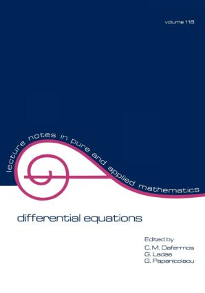 Differential Equations: Proceedings of the 1987 Equadiff Conference, 1st Edition (Paperback) book cover