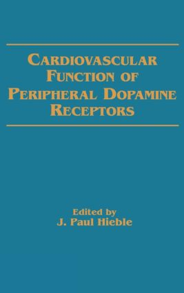 Cardiovascular Function of Peripheral Dopamine Receptors: 1st Edition (Hardback) book cover