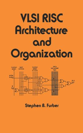 VLSI Risc Architecture and Organization: 1st Edition (Hardback) book cover