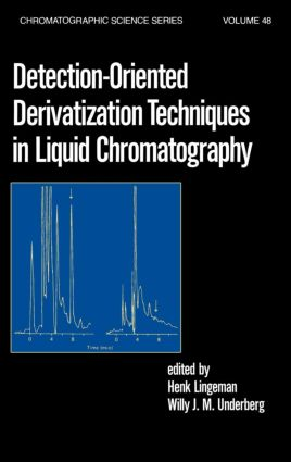 Detection-Oriented Derivatization Techniques in Liquid Chromatography book cover
