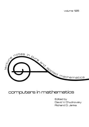 Computers in Mathematics: 1st Edition (Paperback) book cover