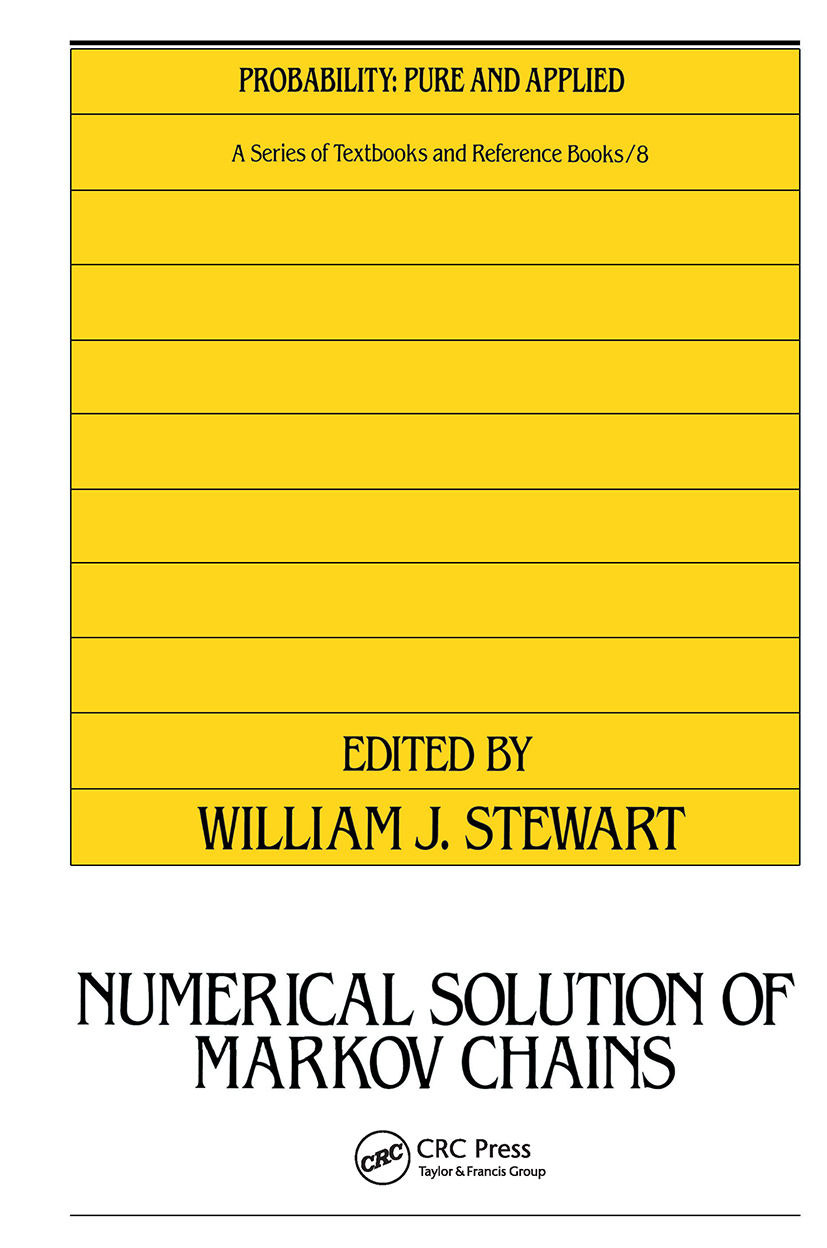 Numerical Solution of Markov Chains: 1st Edition (Hardback) book cover