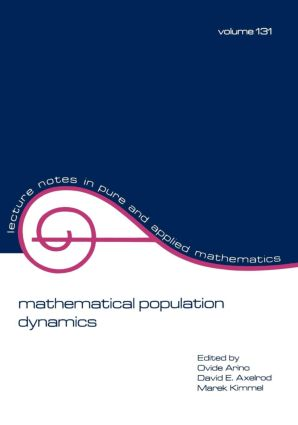 mathematical population dynamics: Proceedings of the Second International Conference, 1st Edition (Paperback) book cover