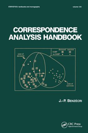 Correspondence Analysis Handbook: 1st Edition (Hardback) book cover