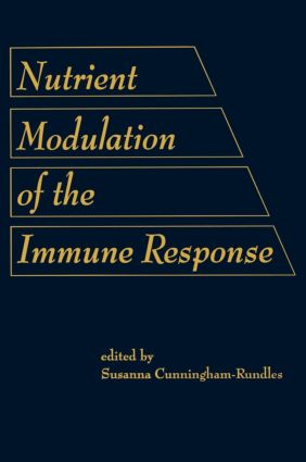 Nutrient Modulation of the Immune Response: 1st Edition (Hardback) book cover