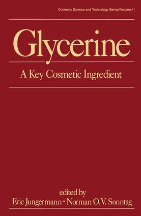 Glycerine: A Key Cosmetic Ingredient, 1st Edition (e-Book) book cover