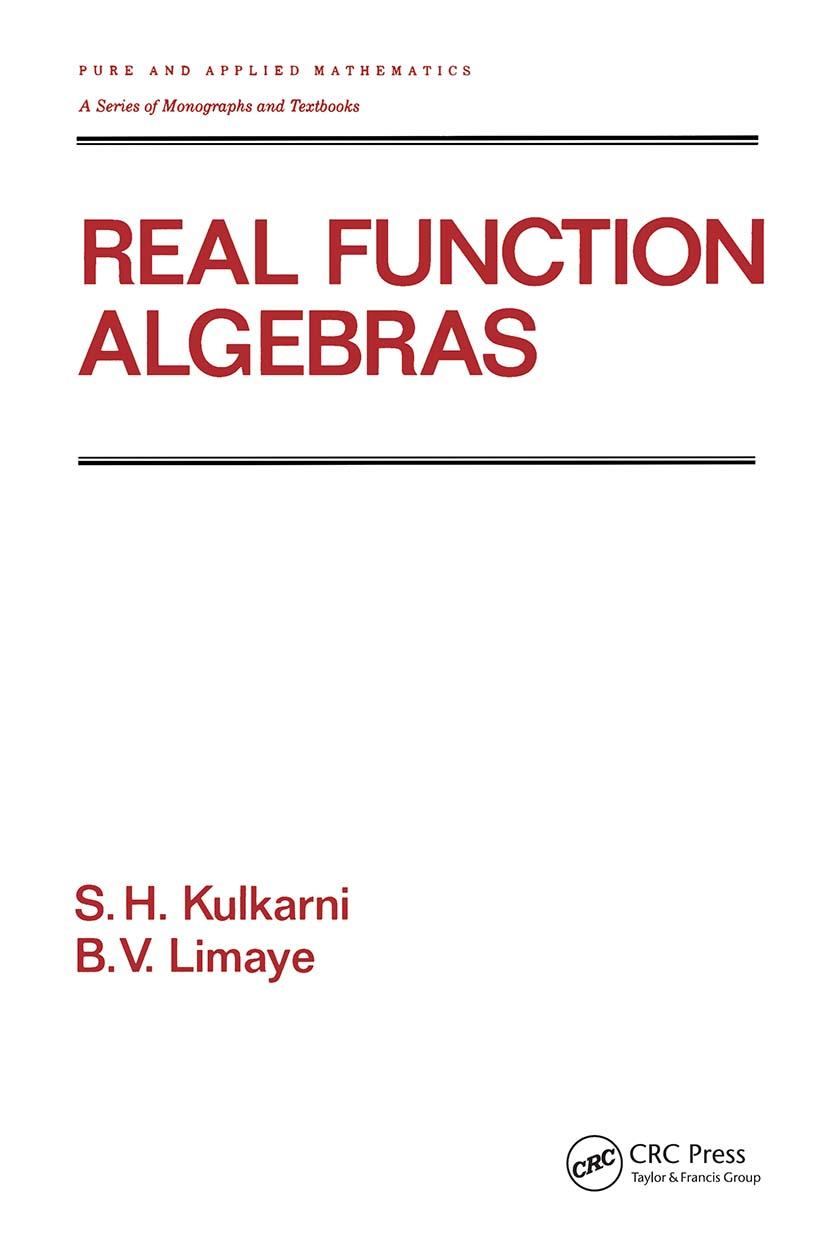 Real Function Algebras