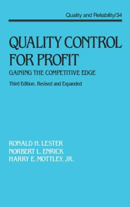 Quality Control for Profit