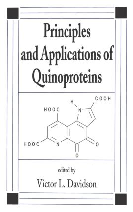 Principles and Applications of Quinoproteins: 1st Edition (Hardback) book cover