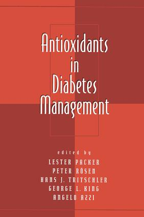 Antioxidants in Diabetes Management (Hardback) book cover