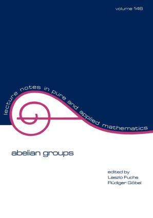 Abelian Groups: 1st Edition (Paperback) book cover