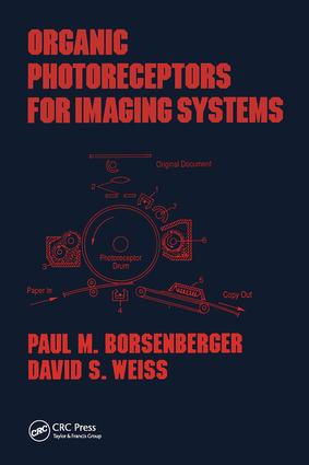 Organic Photoreceptors for Imaging Systems: 1st Edition (Hardback) book cover