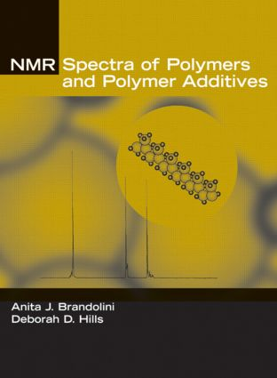 NMR Spectra of Polymers and Polymer Additives: 1st Edition (Hardback) book cover