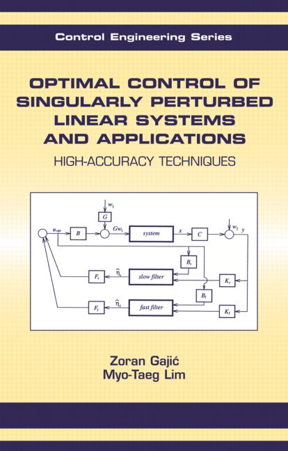 Optimal Control Of Singularly Perturbed Linear Systems And Applications: 1st Edition (Hardback) book cover