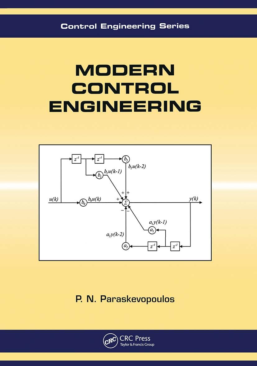 Modern Control Engineering: 1st Edition (Hardback) book cover