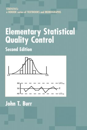 Elementary Statistical Quality Control book cover