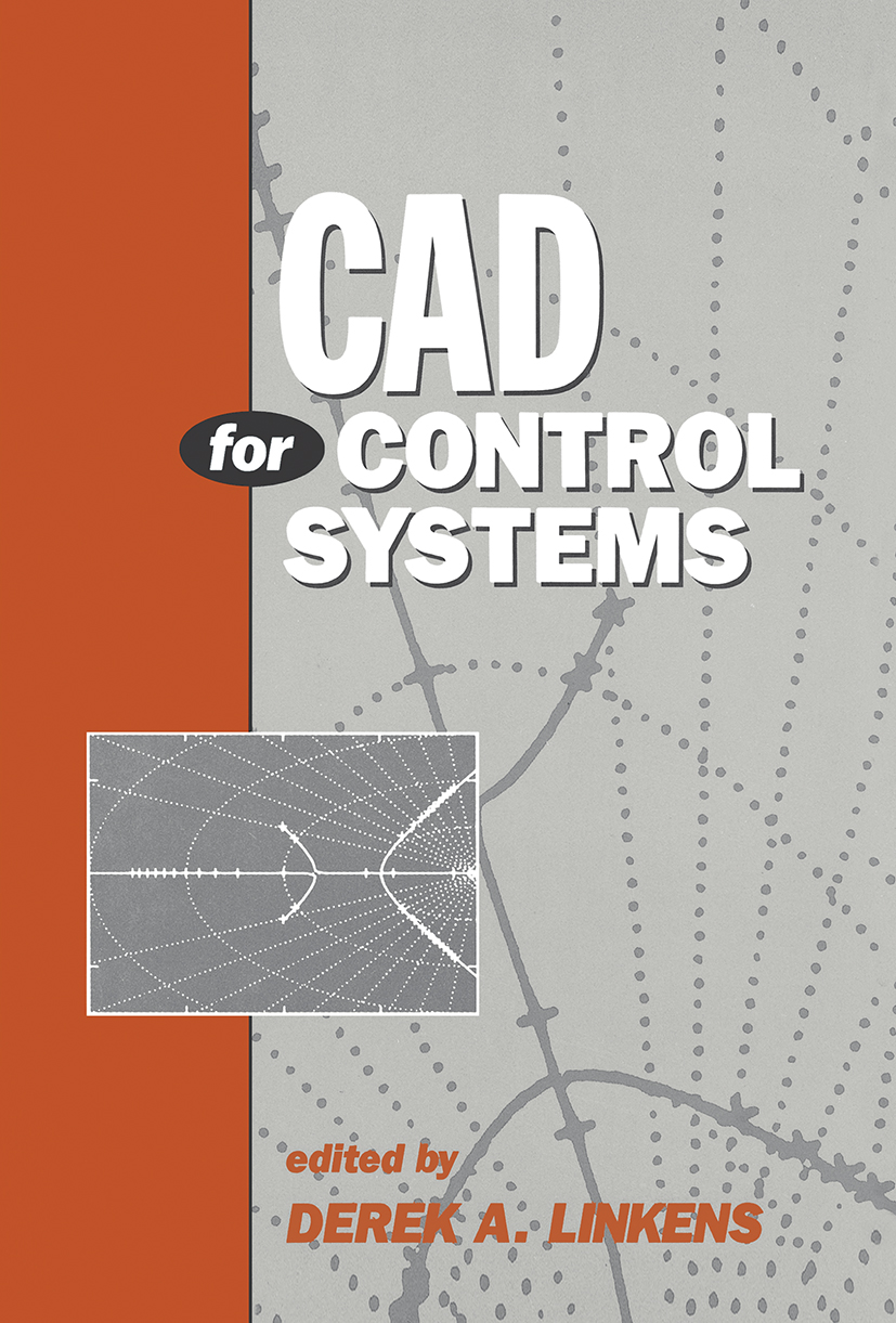CAD for Control Systems: 1st Edition (Hardback) book cover