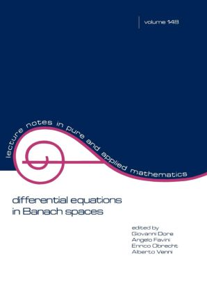 Differential Equations in Banach Spaces: 1st Edition (Paperback) book cover