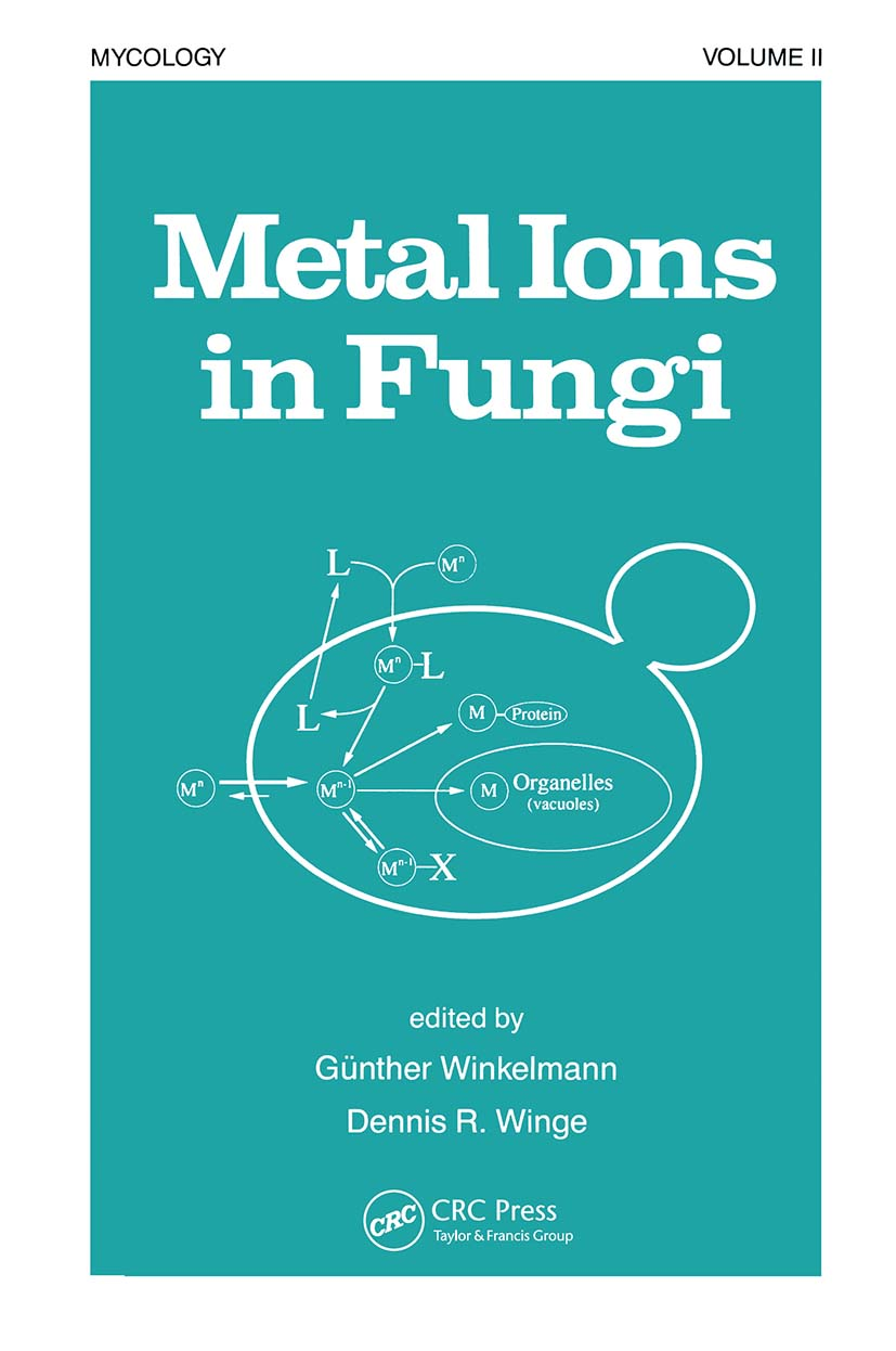 Metal Ions in Fungi: 1st Edition (Hardback) book cover