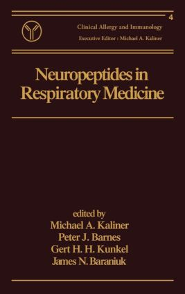 Neuropeptides in Respiratory Medicine book cover